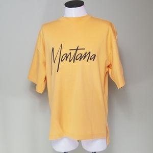 Claude Montana logo men's t-shirt size 54